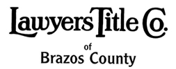Lawyers Title Company of Brazos County Logo
